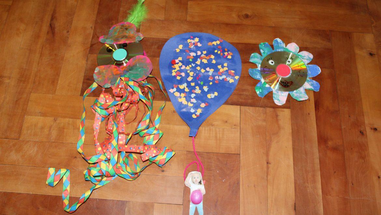 Kreativ Werkstatt Fasching für 1-5 Jährige mit Begleitperson
