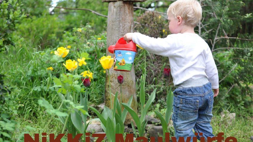 NiKKiZ Maulwürfe-  sensorische Gartengruppe