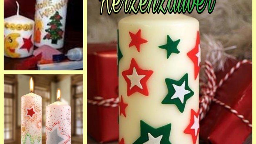 """Weihnachtsworkshop """" Kerzenzauber""""  für 1-12 Jährige mit Begleitperson"""