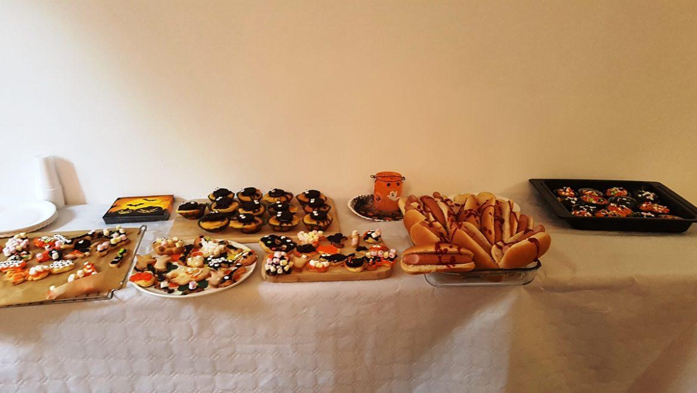 Halloween Workshop Gruselbuffet